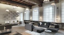 Casa Lago Duomo Milano: 400 mq ad alto contenuto di design