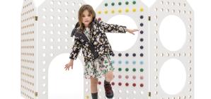 Marni collezione bambina autunno inverno 2017 2018: l'allegria del colore