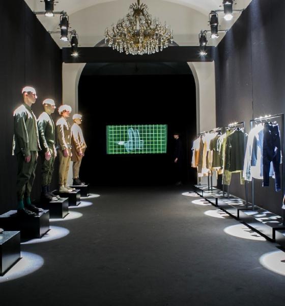 MYAR collezione autunno inverno 2017 2018: l'heritage military secondo Andrea Rosso