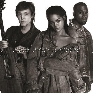 Rihanna FourFiveSeconds video ufficiale: il singolo con Paul McCartney e Kanye West