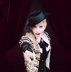 Madonna Living For Love video ufficiale: il primo singolo tratto da Rebel Heart, il backstage