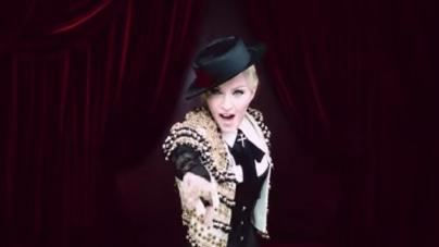 Madonna Living For Love video ufficiale: il primo singolo tratto da Rebel Heart, il backstage