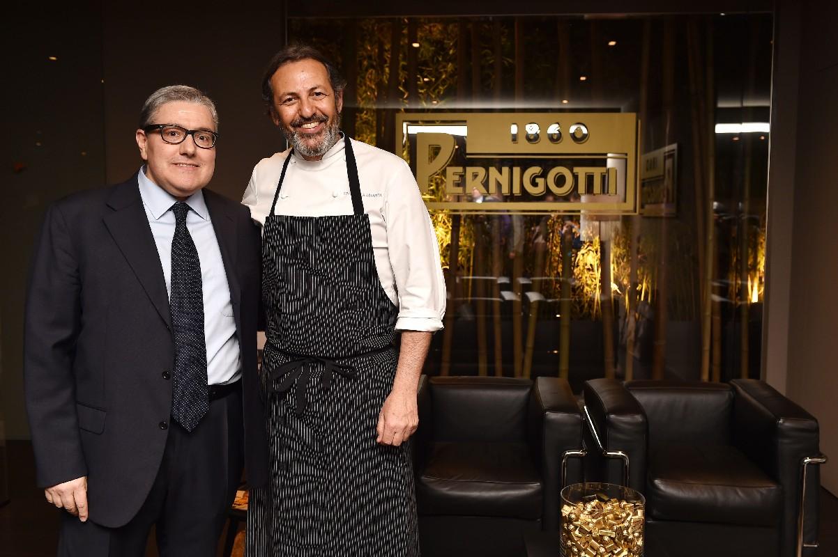 Pernigotti Cioccolato: Massimo Potenza e Filippo La Mantia