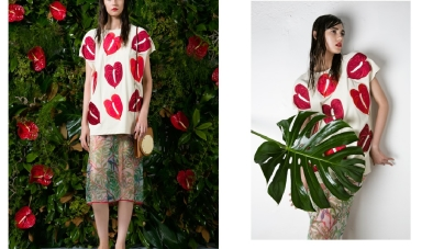 Project149 collezione primavera estate 2015: eclettismo stilistico e dettagli floreali
