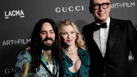 LACMA Art+Film Gala 2016: il red carpet con Salma Hayek, Courtney Love, Demi Moore e Gwyneth Paltrow