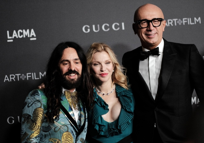 LACMA Art+Film Gala 2016: il red carpet con Salma Hayek, Courtney Love, Demi Moore e Gwyneth Paltrow