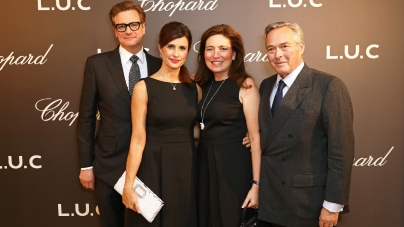 Chopard orologi uomo L.U.C: la nuova collezione, la mostra a Londra con Colin Firth, Mark Ronson e Jack Guinness