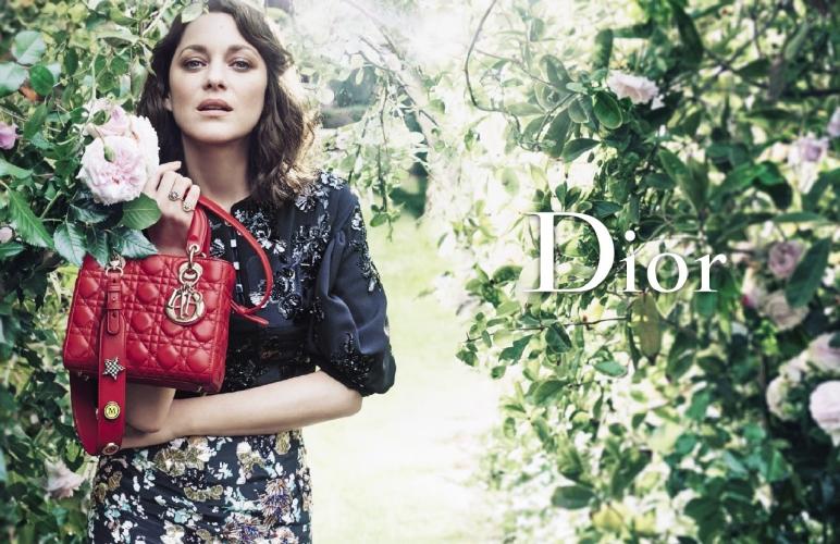 Dior Marion Cotillard: la campagna pubblicitaria Lady Dior Cruise 2017