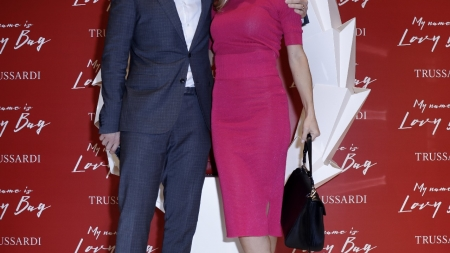 Trussardi LOVY Bag: il party a Milano con Michelle Hunziker