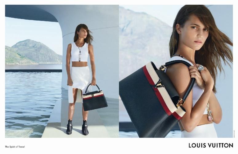Louis Vuitton campagna Cruise 2017: Alicia Vikander interpreta lo Spirit of Travel