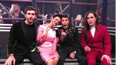 X Factor 2016 prima puntata live: i look di Alessandro Cattelan, Arisa, Fedez, Alvaro Soler e Manuel Agnelli