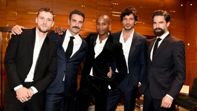 Ermenegildo Zegna Londra New Bond Street: il party per il nuovo Global Store con Sam Claflin e Jack Guinness