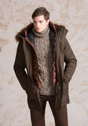 Henry Cotton's collezione uomo autunno inverno 2016 2017: il countryside britannico