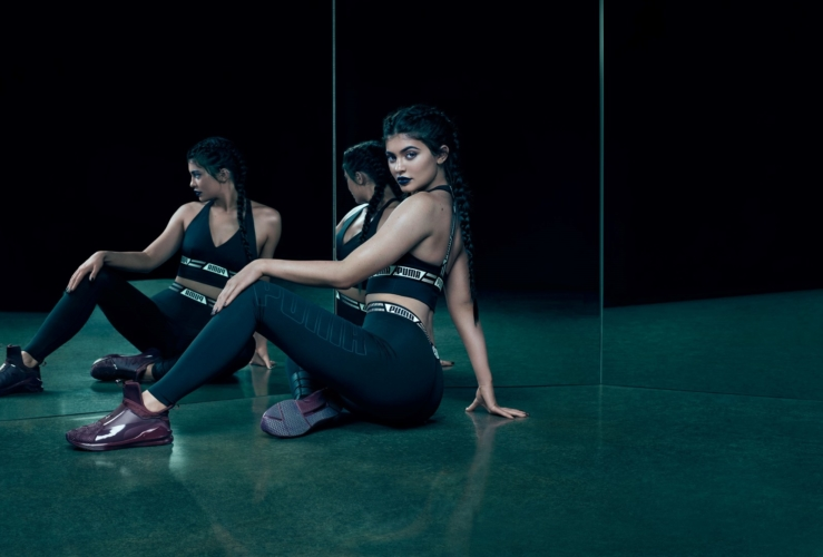 Puma Kylie Jenner: le nuove sneakers femminili Fierce KRM