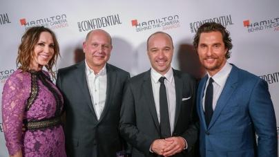 Hamilton Behind The Camera Awards 2016: i vincitori, guest Ewan McGregor, Natalie Portman, Matthew McConaughey