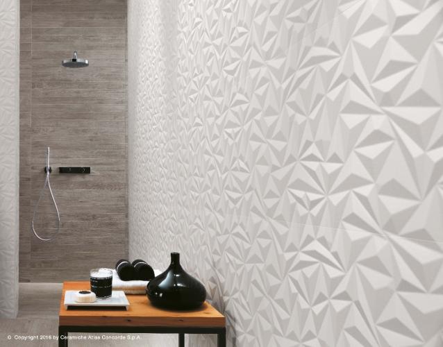 Rivestimenti ceramica: le proposte 3D Wall Design di Atlas Concorde