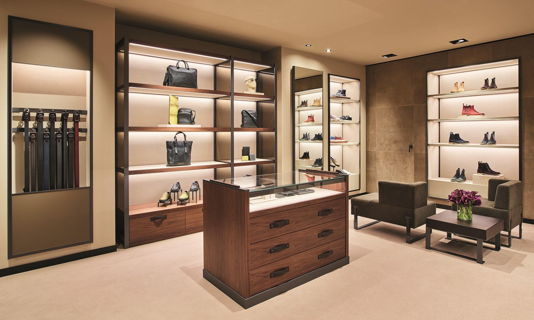 Bottega veneta amsterdam inaugurata la nuova boutique globestyles - Mobili bottega veneta ...