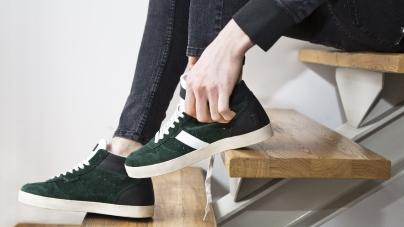 DATE sneakers Uomo autunno inverno 2016 2017: il british mood tra vintage e underground