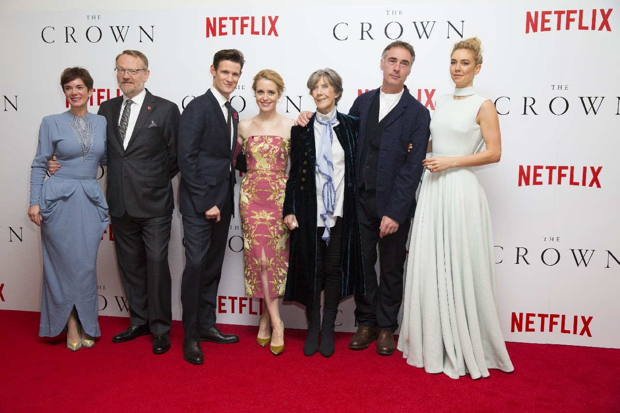 The Crown Netflix premiere Londra