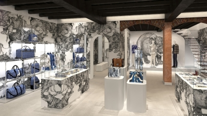 Louis Vuitton Uomo Milano: apre il primo pop-up store in Italia