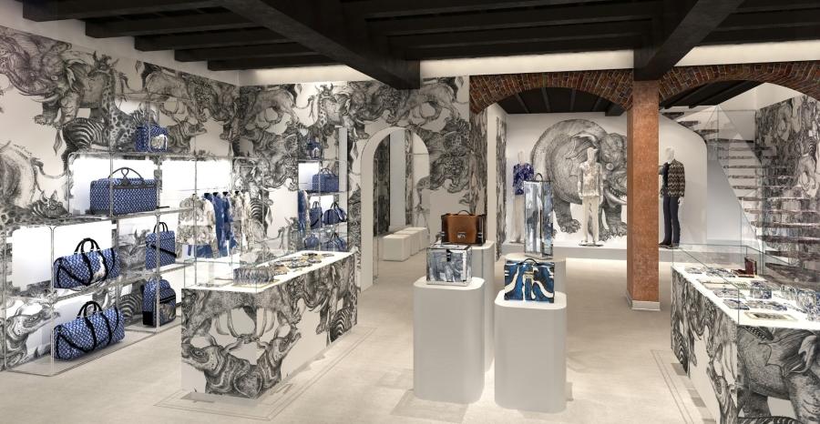 Louis Vuitton Uomo Milano: apre il primo pop-up store in Italia