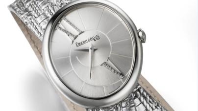 Eberhard & Co. orologi 2017: Gilda si veste con un nuovo cinturino effetto argento