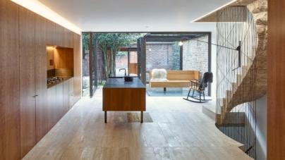 Ristrutturazione casa: il ciliegio americano in una villetta anni '50 a Londra