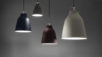 Maison&Objet Gennaio 2018: Republic of Fritz Hansen presenta le nuove tonalità delle lampade Caravaggio