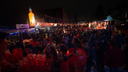 Capodanno 2018: Aperol Spritz ha illuminato Bormio di arancio