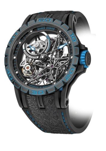 SIHH 2018 Roger Dubuis Pirelli: il nuovo orologio Excalibur Spider Skeleton Automatic