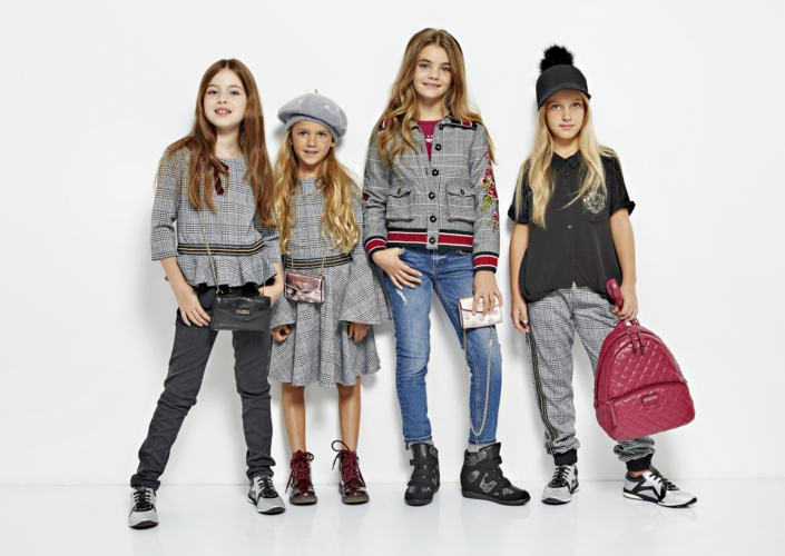 Pitti Bimbo 2018 Guess Kids: un vivace mix di colori, accenti in lurex e stampe animalier
