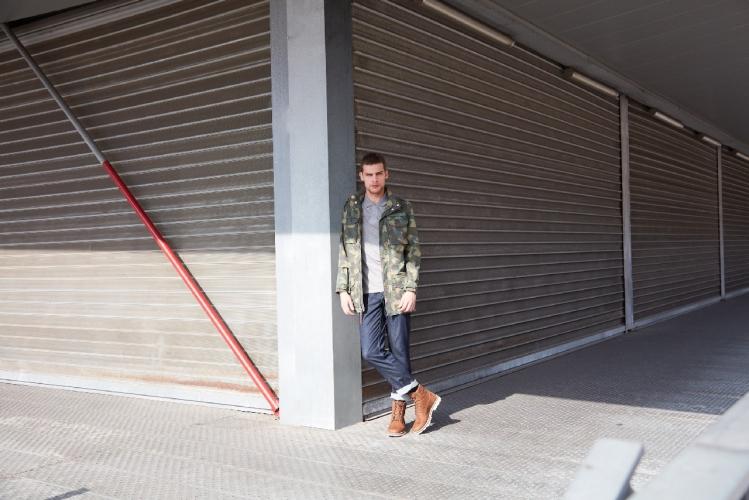 Timberland uomo primavera estate 2018: l'iconica giacca militare M65