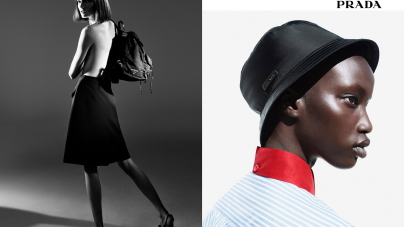 Prada campagna donna primavera estate 2018: Black Nylon