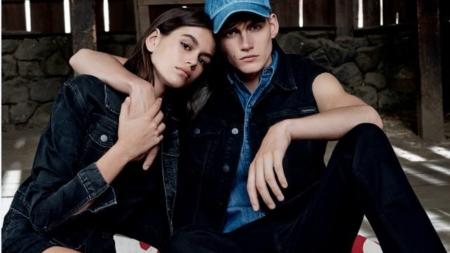 Calvin Klein Jeans campagna 2018: protagonisti i fratelli Kaia e Presley Gerber