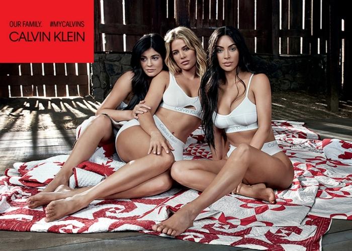 Calvin Klein Kim Kardashian Underwear: la nuova campagna insieme alla famiglia Jenner