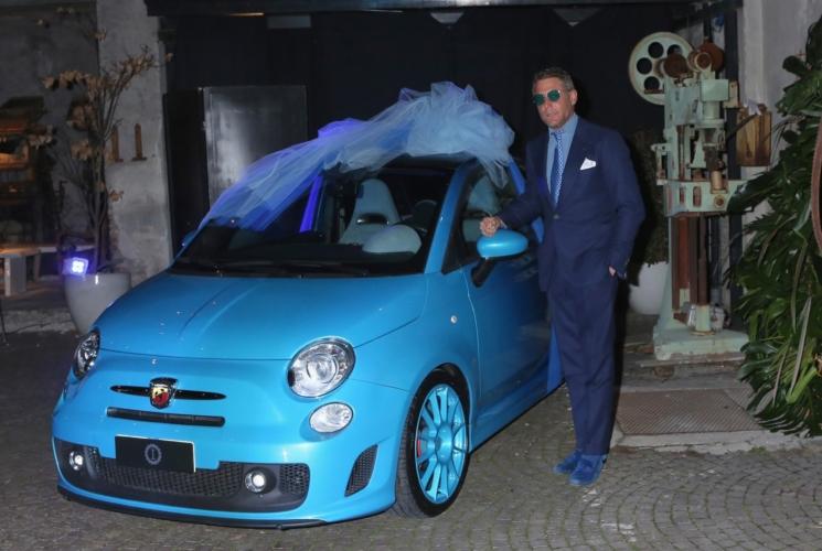 Carlo Cracco Rosa Fanti matrimonio: la 500 unica firmata Garage Italia Customs