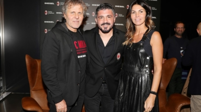 Diesel x AC Milan capsule collection: il party a Milano con Rino Gattuso