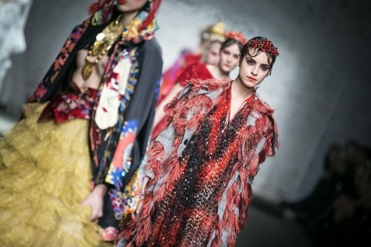 Altaroma Gennaio 2018 Filippo Laterza: la collezione Haute Couture primavera estate 2018
