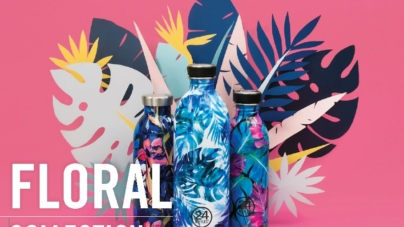 Homi Milano 2018 24Bottles: la Floral Collection, frizzante, esotica e di tendenza
