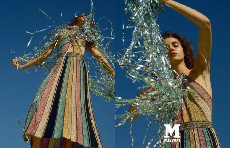 M Missoni campagna primavera estate 2018: il viaggio tra reale ed immaginario