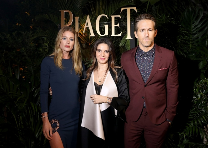 SIHH 2018 Piaget: il party con Ryan Reynolds e Doutzen Kroes