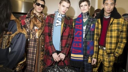 Versace Uomo autunno inverno 2018 2019: il lato ribelle, la sfilata e il backstage