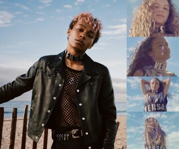 Versus Versace campagna primavera estate 2018: le culture underground di Los Angeles
