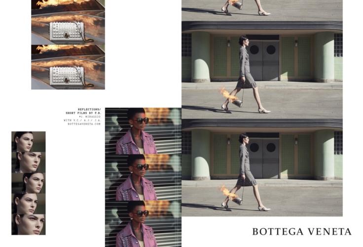 Bottega Veneta campagna primavera estate 2018: Reflections, l'approccio cinematografico