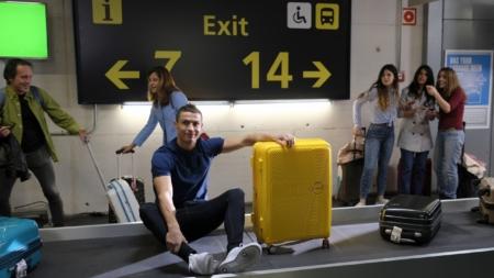 American Tourister Cristiano Ronaldo: la nuova campagna Bring Back More 2018