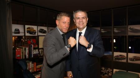 Hublot Garage Italia: la nuova partnership, il party a Milano