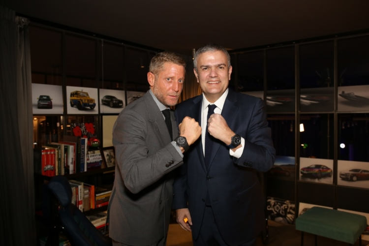 Hublot Garage Italia: la nuova partnership, il party a Milano
