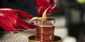 Campari cocktail Spy Americano: la red passion secondo Mattia Pastori