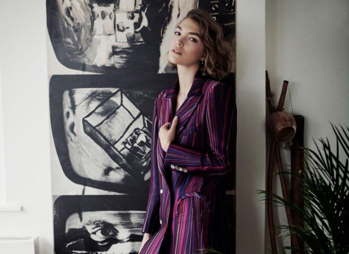 Milano Moda Donna Febbraio 2018 Blazé Milano: la capsule collection eco con Arizona Muse