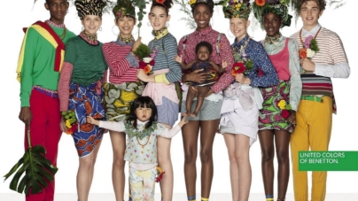 United Colors of Benetton campagna primavera estate 2018: il flower power
